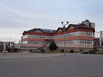 Bátonyterenye District - Image: New Town Hall, Bátonyterenye