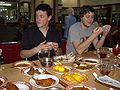 Nic and Adam (Padang food 22-2-2007).jpg