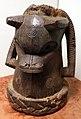 Nigeria, regno del benin, testa di ariete da altare, xx secolo.jpg