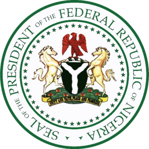 English: Seal of the President of Nigeria Cate...