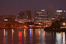 Night skyline of Wilmington, DE.jpg