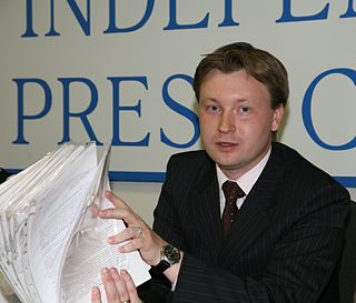Russian activist and journalist