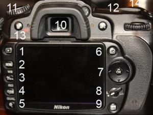 Nikon D90 - Nikon D90 interface
