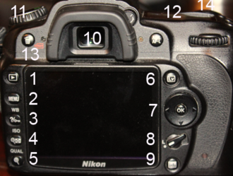 Nikon D90 - Nikon D90 interface