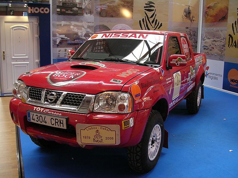 File:Nissan Navara Lisboa Dakar.jpg