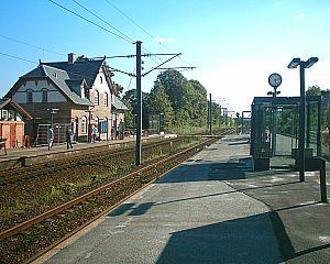 Nivå Station - The main station building