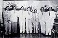 Njonjo Prawoto, A. K. Gani, Suwirjo, Ong Eng Djie, Notohamiprodjo, Moh Said and Soemali Dunia Film 1 Apr 1954 p17.jpg
