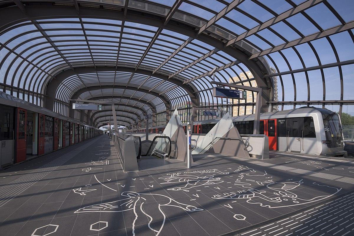 Noord metro station - Wikipedia
