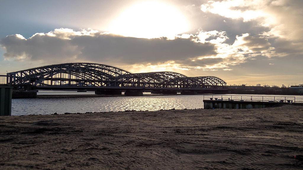 Puente Norderelbbrücken, Hamburgo (Alemania).
