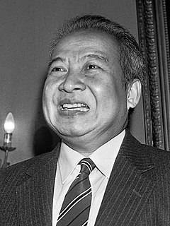 Norodom Sihanouk King of Cambodia