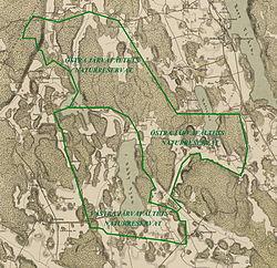 järvafältet karta Järvafältets naturreservat – Wikipedia järvafältet karta
