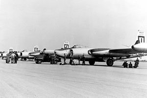 91st Missile Wing - North American RB-45C Tornados of the 91st Strategic Recon Wing.