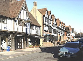 Oxted Town and civil parish in Surrey, England
