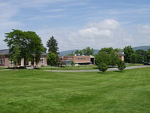 Northfield Mount Hermon School - Image: Northfield Mount Hermon School (Gill, MA) campus view