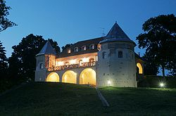 Norviliskiu pilis.Norviliškės Castle