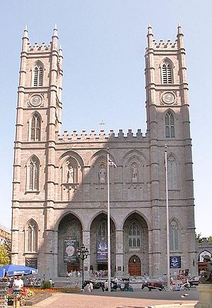 James O'Donnell (architect) - Image: Notre Dame Montreal db 2