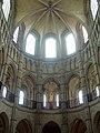 Noyon (60), cathédrale Notre-Dame, chœur, rond-point de l'abside, parties hautes, vue vers l'est 1.jpg
