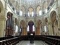 Noyon (60), cathédrale Notre-Dame, chœur, rond-point de l'abside, vue vers l'est.jpg