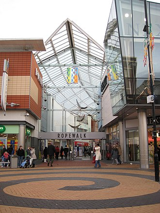 Nuneaton - Ropewalk Shopping Centre