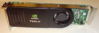 Tesla (microarchitecture) codename for a GPU microarchitecture developed by Nvidia