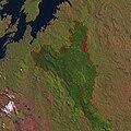 Nyungwe rahvuspark Landsat 19jul86.jpg