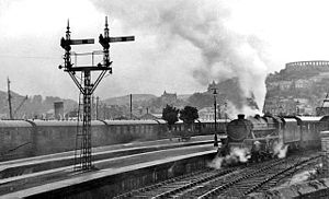 Oban railway station - Oban station in 1948