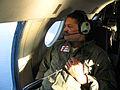 Observer aboard an USCG HU-25 Falcon patrol aircraft in Guantanamo.jpg