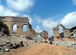 Olba Aqueduct - Image: Olba Aqueduct