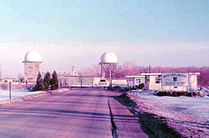 Watertown Air Force Station - Image: Old 655Guard Shack