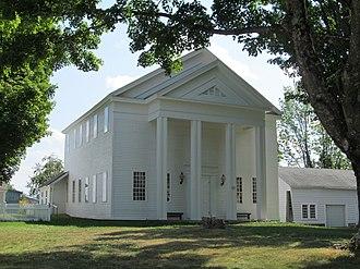 Granville, Massachusetts - Old Meeting House