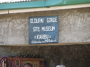 Olduvai Gorge Museum - Entrance to the museum