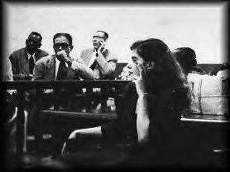 Olga Viscal Garriga - Garriga on trial for refusing to recognize U.S. authority over Puerto Rico