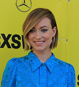 Olivia Wilde at the Red Carpet Premiere of A Vigilante during SXSW 2018 (26876841998) (cropped).jpg
