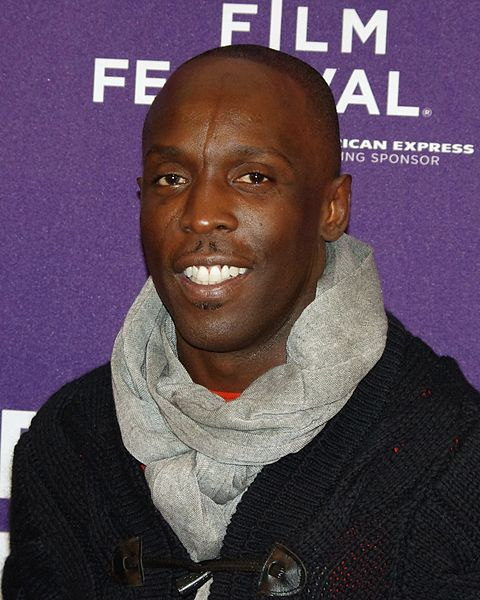 The 51-year old son of father (?) and mother(?), 178 cm tall Michael Kenneth Williams in 2018 photo