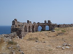 Ommuring kasteel Mytilini