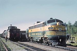 Ontario Northland Railway - Ontario Northland freight trains in 1965