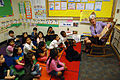 On Thursday, February 17, HHS Secretary Kathleen Sebelius visited the Judy Hoyer Early Learning Center at Cool Springs Elementary School in Adelphi, Maryland (3).jpg