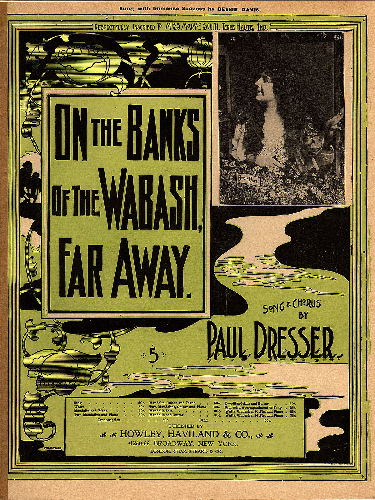 On the Banks of the Wabash, Far Away - Wikipedia