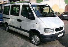 Opel Movano przed liftingiem w wersji van