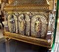 Orafo aostano, cassa-reliquiario della mandibola di san grato, 1450 circa (aosta, collegiata dei ss. pietro e orso) 04.JPG