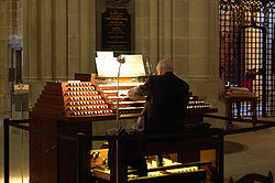 meaning of organist