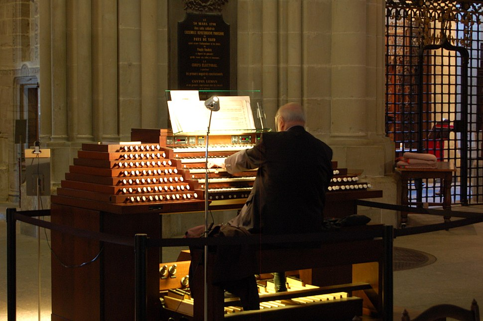 Organist at Lausanne Cathedral
