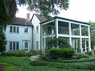 Orlando, Florida - Historic Mizell Plantation Home (built 1858), the oldest structure still standing in Orlando, Florida is located in what is now Harry P. Leu Gardens. The home is located in the Mizell-Leu House Historic District.