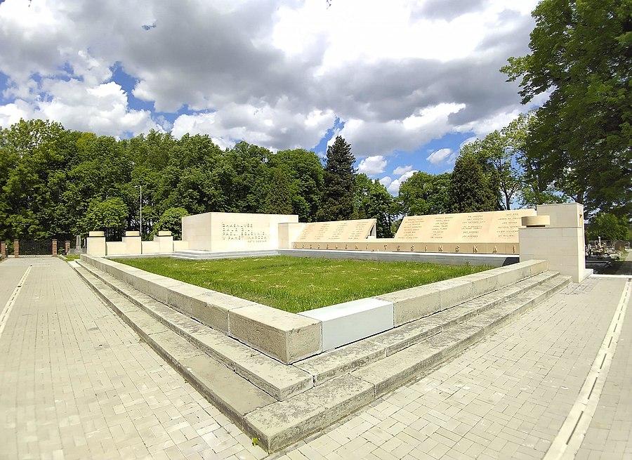 Monument to the fallen for Těšín Silesia
