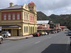 Queenstown, Tasmania - Image: Orr Street, Queenstown