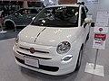 Osaka Motor Show 2019 (253) - FIAT 500 1.2 POP (ABA-31212).jpg