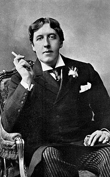 Oscar Wilde 1854 1900 Wearing A Frock Coat With Chest Pocket Sporting Square And Pinned Cravat In Ruche Knot Coats Any External