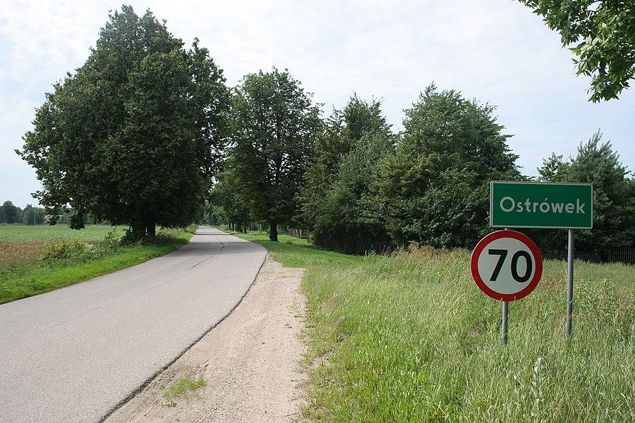 Ostrówek, Gmina Szudziałowo