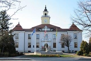 Ostrów Mazowiecka Place in Masovian Voivodeship, Poland