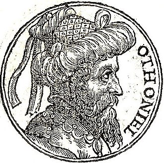"""Othniel - Othniel from """"Promptuarii Iconum Insigniorum"""""""